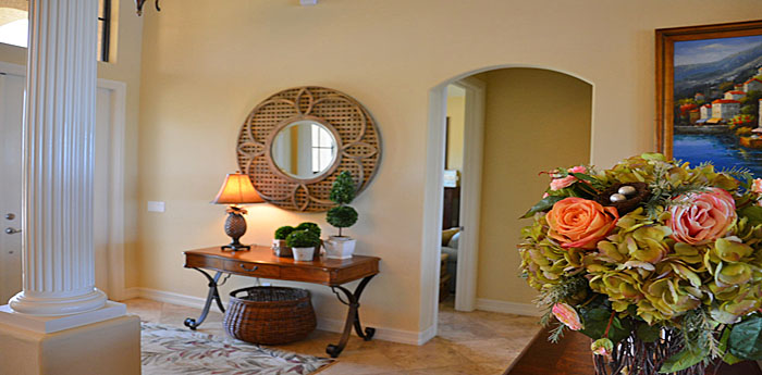 Living area in Cape Coral