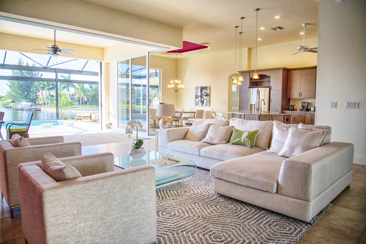Wohnzimmer in Florida