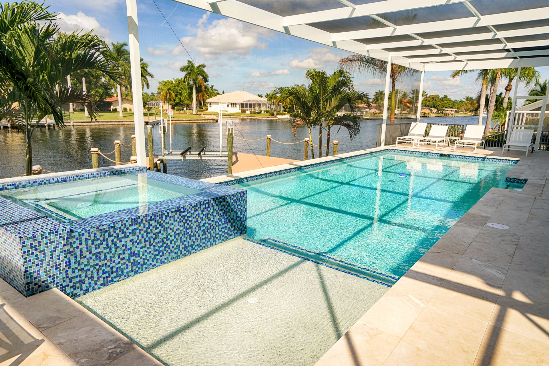 Pool Area in Florida
