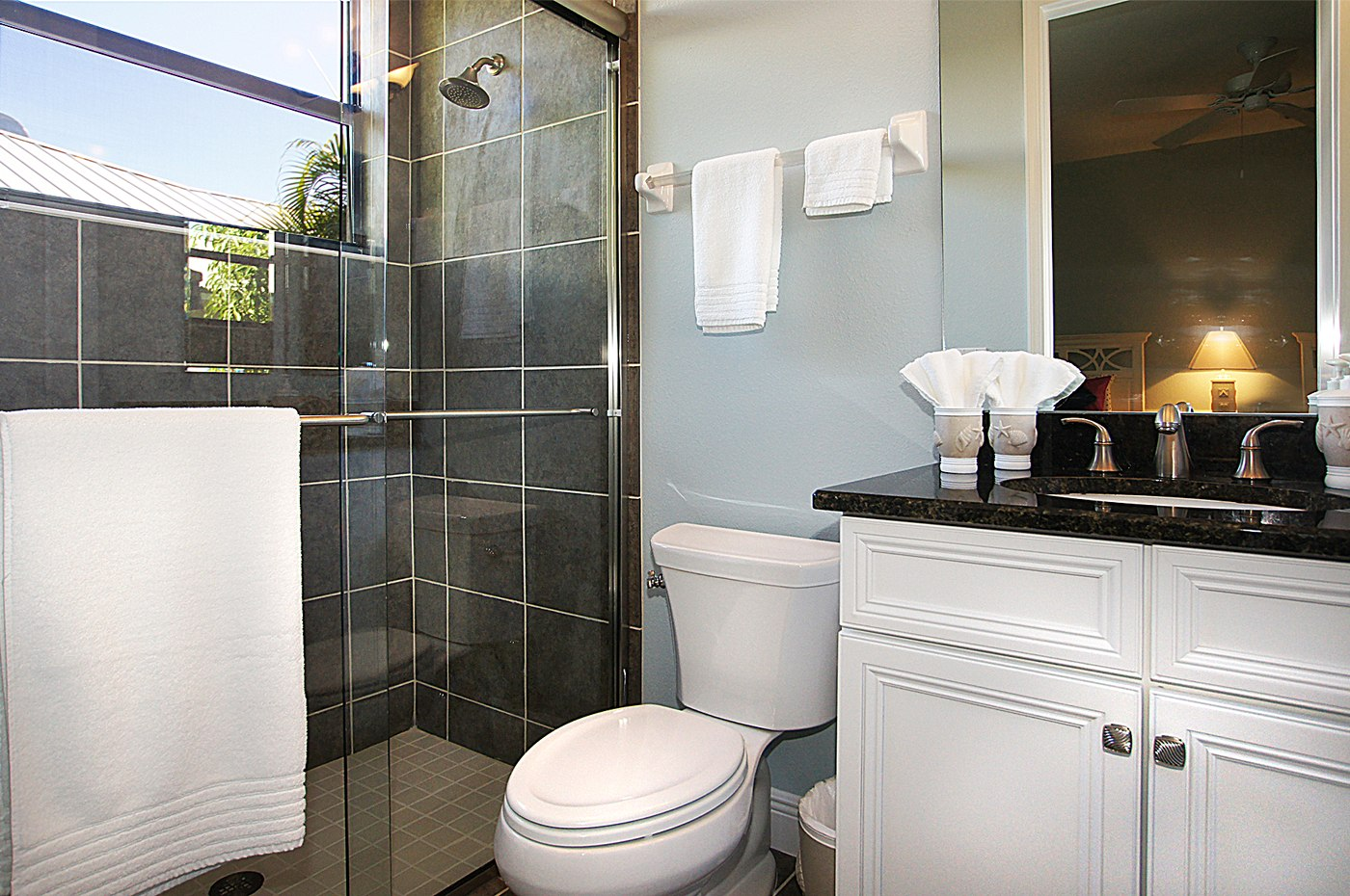 Bathroom in the rental home
