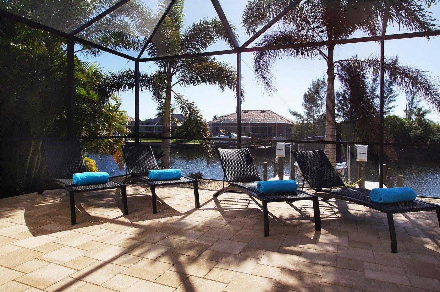 Pool Area in Cape Coral