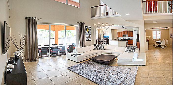 villa belmar ferienvilla in florida. Black Bedroom Furniture Sets. Home Design Ideas