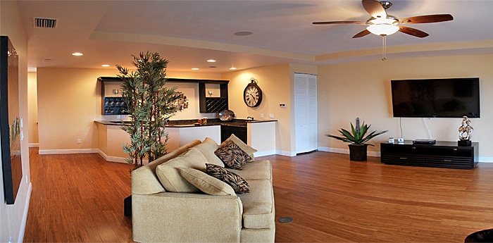 Living Area im Ferienhaus