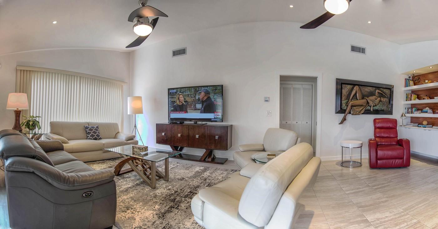 Wohnzimmer in Cape Coral
