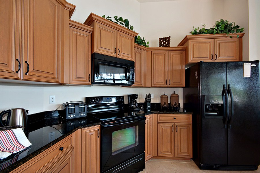 Kitchen in the rental home