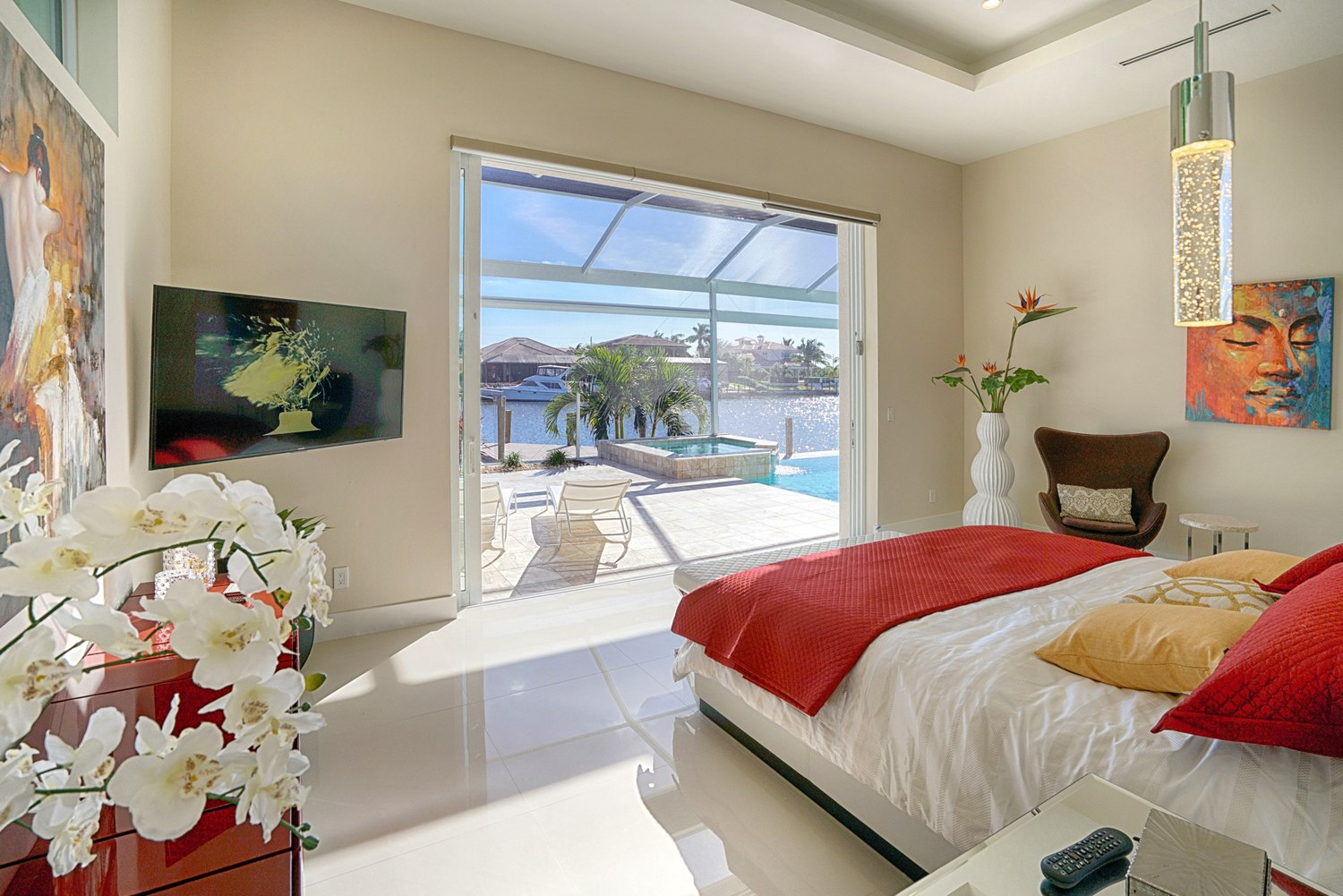 Bedroom in Cape Coral
