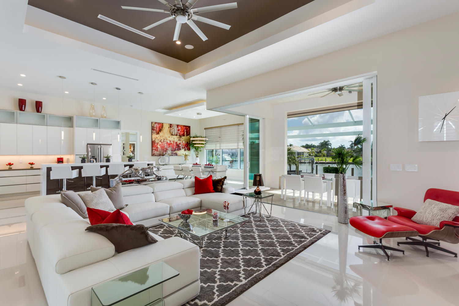 Living room in Cape Coral
