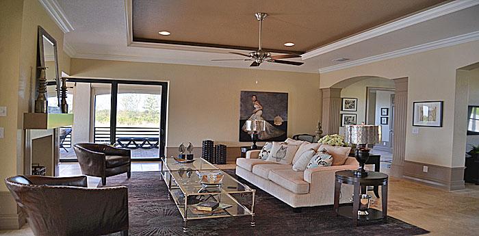 Living Area in Cape Coral
