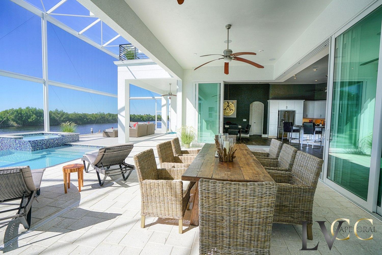 Villa marlin vacation villa in florida for Pool lanai cost