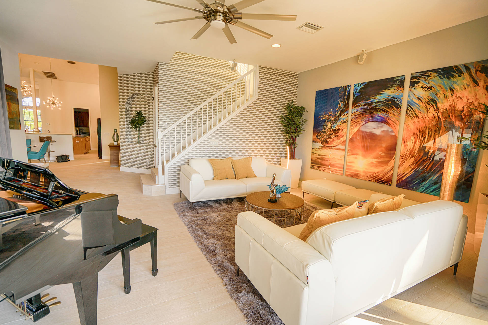 Living room in Florida