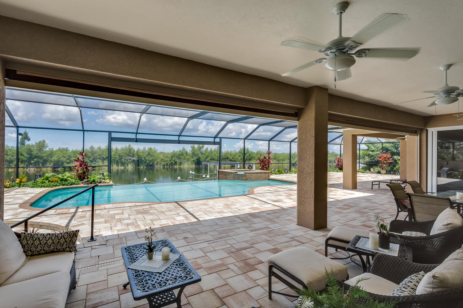 Pool und Outdoor Area in Florida
