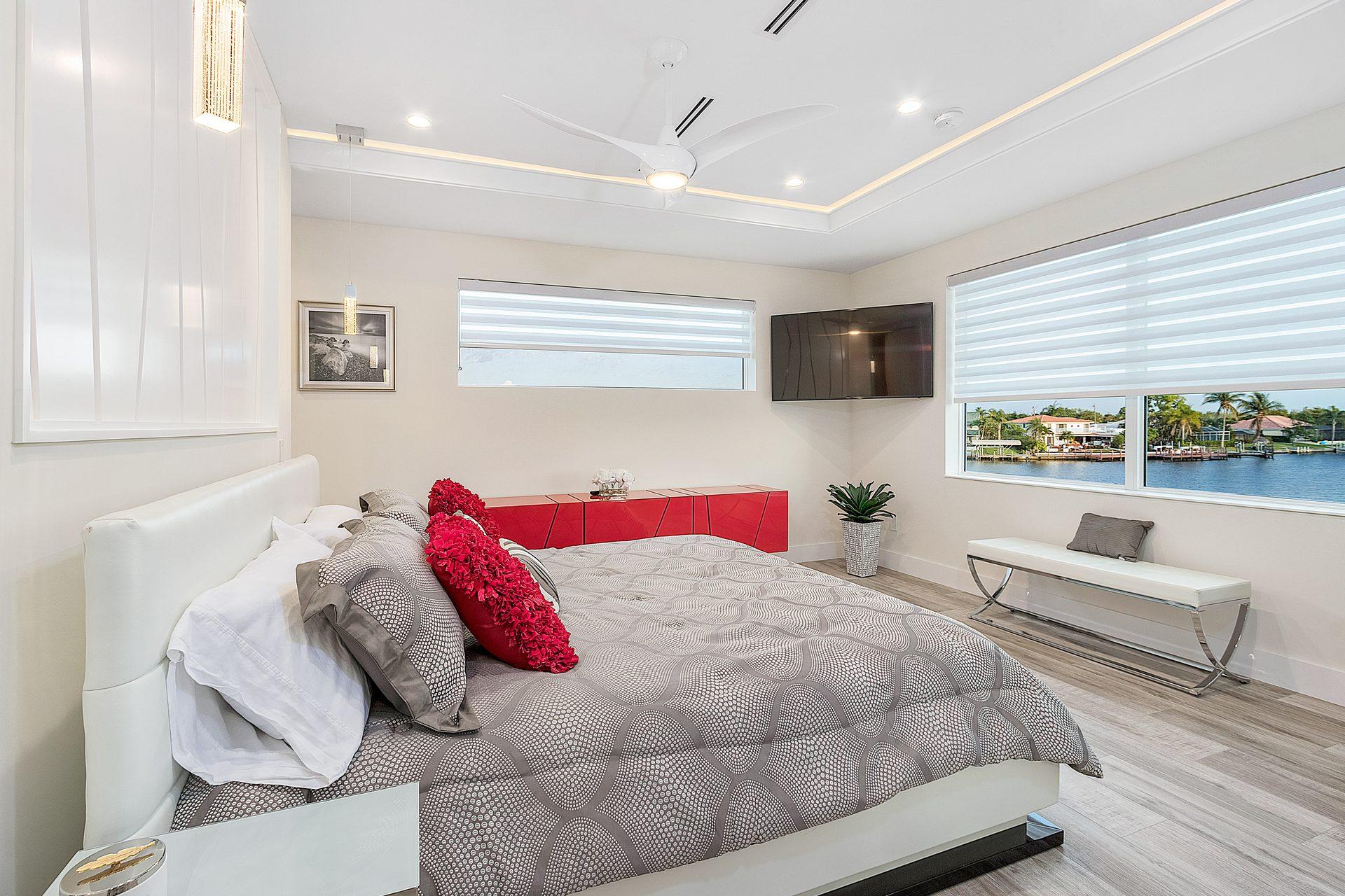 Schlafzimmer im Ferienhaus
