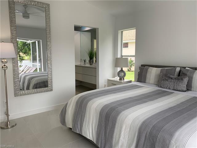 Bedrooms in the rental home