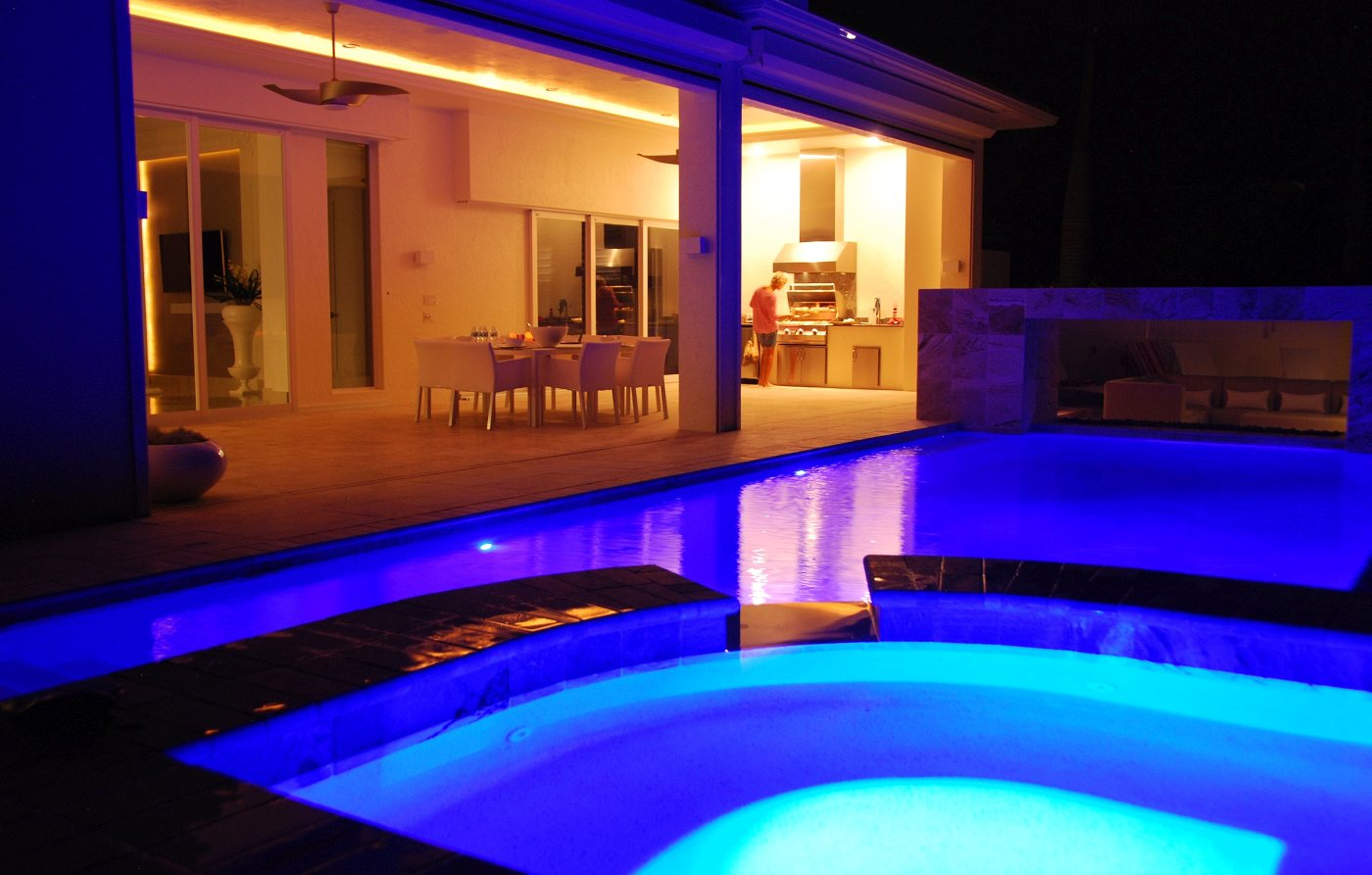 Pool in the rental home